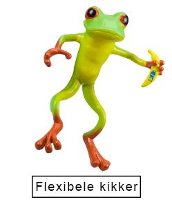 Flexibele kikker