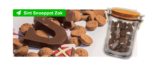 Sint Snoeppot Zak M
