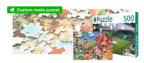 Custom made puzzel