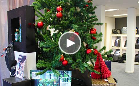 Eindejaars en kerstgeschenken showroom
