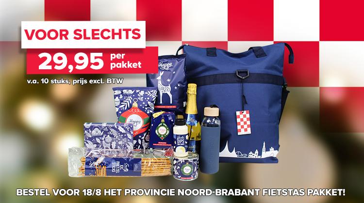 Noord-Brabant Fietstas pakket