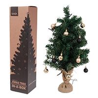 Kerstboom in box